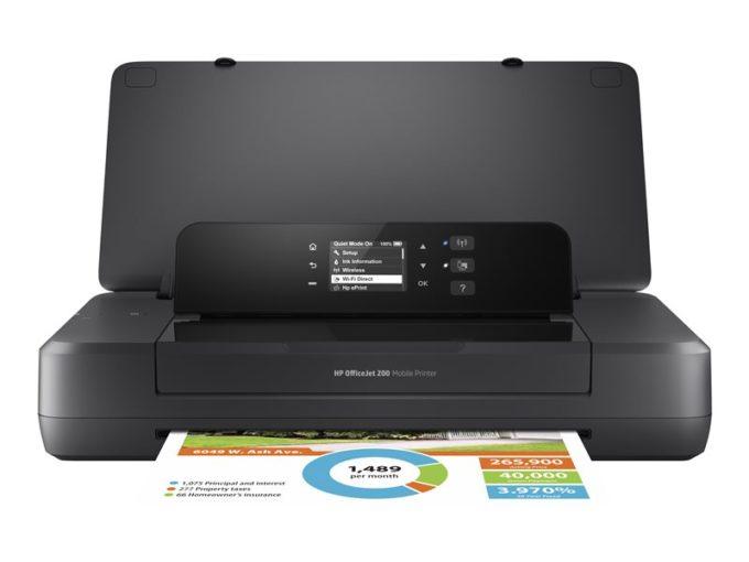 Przenośna drukarka HP officejet 202