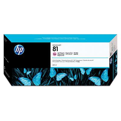 Atrament tusz HP 81 Dye Light Magenta C4935A 680ml