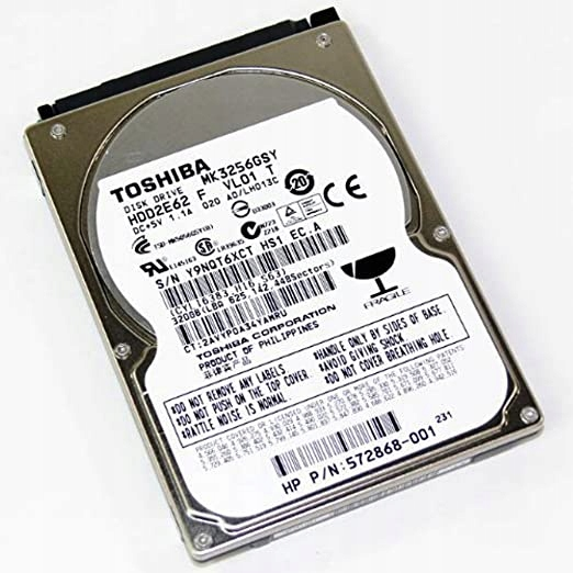 Dysk twardy Toshiba MK3256GSY